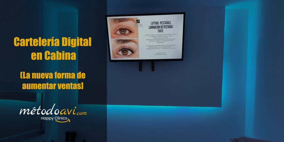 Cartelería Digital para Clínicas y Centros Estéticos
