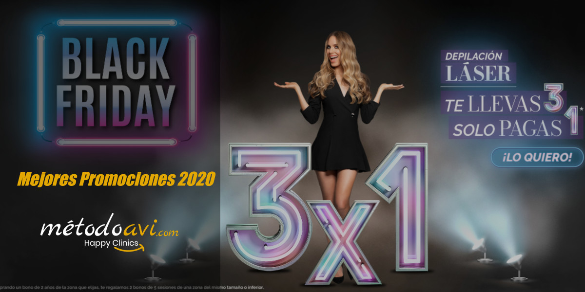 Ideas promociones Black Friday centros estéticos
